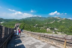 Great Wall of China. stock photo