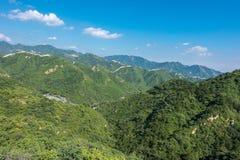 Great Wall of China. royalty free stock image