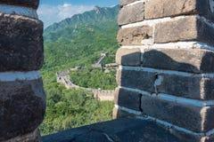 Great Wall of China. stock photos