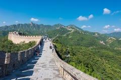 Great Wall of China. royalty free stock photos