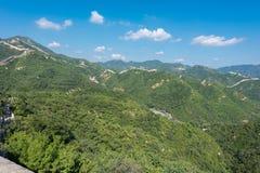Great Wall of China. royalty free stock photo