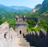 The Great Wall of China Yellow Cliff. Stock Image