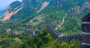 The Great Wall of China Yellow Cliff. Stock Images