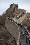 Great Wall Detail. The chinese great wall view stock photos