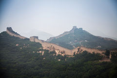 Great Wall; Royalty Free Stock Images