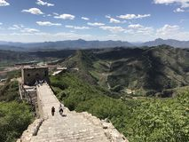 Great Wall China stock images