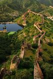 Great wall in India Royalty Free Stock Photography