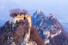 The Great Wall at Jiankou Royalty Free Stock Photography