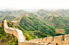 Great wall by Jinshaling China Stock Image