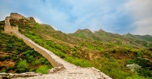 Great wall by Jinshanling in China Stock Photos