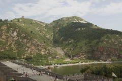 The great wall. Jiu Men Kou,China Stock Photography
