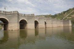 The great wall. Jiu Men Kou,China Stock Image