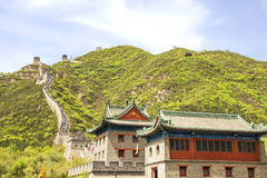Great Wall, Juyongguan, China Royalty Free Stock Images