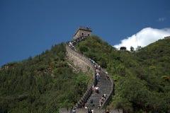 The Great Wall, Juyongguan, China Royalty Free Stock Images