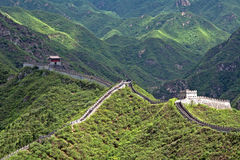 The Great Wall, Juyongguan, China. The Great Wall in Juyongguan, China stock photography