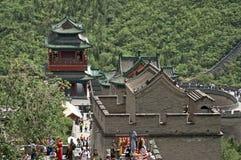 The Great Wall, Juyongguan, China Royalty Free Stock Photo