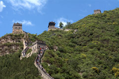 The Great Wall, Juyongguan, China Stock Photo