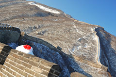 Great wall in loving Stock Photo
