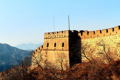 Great Wall morning Royalty Free Stock Photography