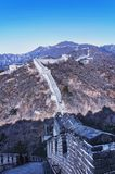Great Wall at Mutianyu Royalty Free Stock Photo