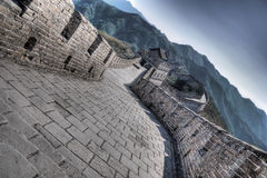 Great Wall at Mutianyu. Near Beijing, China Royalty Free Stock Photography