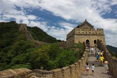 Great Wall at Mutianyu Royalty Free Stock Photos