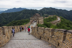 Great Wall at Mutianyu Royalty Free Stock Image