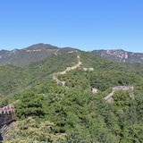 The Great Wall at Mutianyu Royalty Free Stock Photos