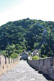The Great Wall at Mutianyu Royalty Free Stock Photography