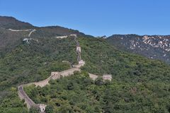 The Great Wall at Mutianyu Stock Photos