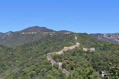 The Great Wall at Mutianyu Stock Images