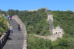 The Great Wall at Mutianyu Royalty Free Stock Image