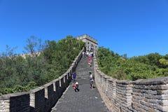 The Great Wall at Mutianyu Stock Image