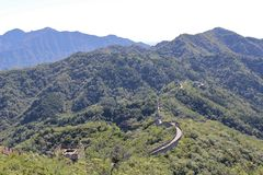 The Great Wall at Mutianyu Stock Photography