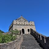 The Great Wall at Mutianyu Stock Photo