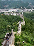 Great Wall near the Beijing Stock Photography