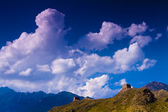 Great wall in ningxia china Stock Images