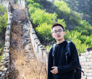 On the Great Wall Stock Photography