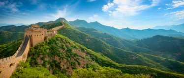 Free Great Wall Of China Royalty Free Stock Image - 122616416
