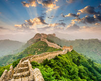 Free Great Wall Of China Royalty Free Stock Images - 54551399