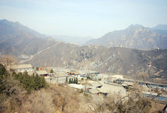 Free Great Wall Of China And Ancient Chinese Village Stock Images - 27495314