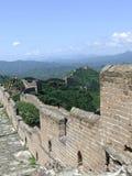 Great wall panorama at Jinshanling Stock Image
