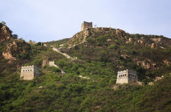 The Great Wall passes Royalty Free Stock Photos
