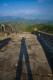 Great wall photographer Stock Photography