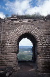 Great wall ruin Stock Photography
