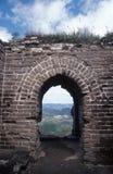 Great wall ruin stock photography