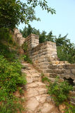 Great Wall ruins Stock Image