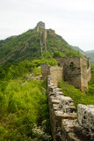 Great wall, ruins of the top passage way Stock Photography