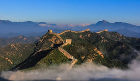 The Great Wall scenery Stock Photography