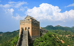 The Great Wall scenery Royalty Free Stock Photography